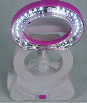正品斯贝尔 三合一节能环保型可充电电风扇 迷你台灯 手拿应急灯