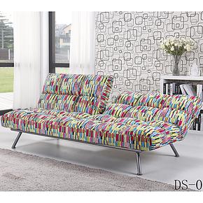 都市元素正品 欧式布艺多功能宜家休闲家具1.8米折叠床懒人沙发床