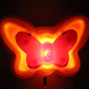 祖科温馨家用小夜灯 插电创意小夜灯 环保节能灯不须更换灯泡