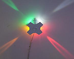 大功率LED投光灯装饰射灯led灯饰壁灯十字星光灯 新型环保节能