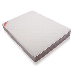 喜梦宝独立袋装弹簧床垫 1.8米天然乳胶太空记忆棉双人床垫 白色