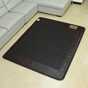 【御缘】玉石床垫-锗石床垫保健床垫-鳄鱼纹圆黑锗石