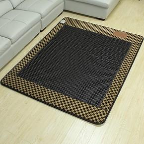 【御缘】玉石床垫-锗石床垫保健床垫-经典布圆黑锗石