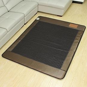 【御缘正品】玉石床垫-锗石床垫保健床垫-花冠纹圆黑锗石