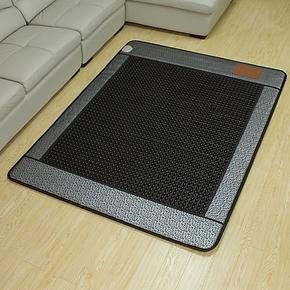 【御缘正品】玉石床垫-锗石床垫保健床垫-银色浮雕圆黑锗石