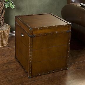 特价欧式客厅茶几 实木家具卧室储物箱 仿古儿童玩具木箱2012