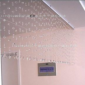 淘金币秒杀/天然水晶珠帘/水晶玻璃珠帘/玄关 隔断 餐厅客厅珠帘