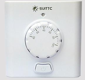 电热膜地暖地热电热膜加热片加温膜专用(明装)旋钮电子式温控器