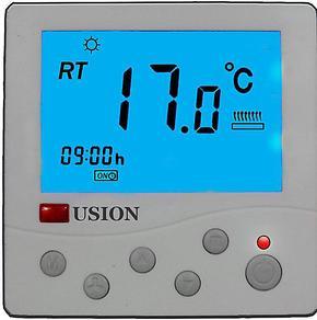 电采暖温控器 地热温控器 电热膜温控器 地暖温控器(智能型)