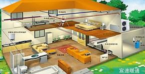 地源热泵/特灵地源热泵/别墅地源热泵 地暖工程设计安装维护公司