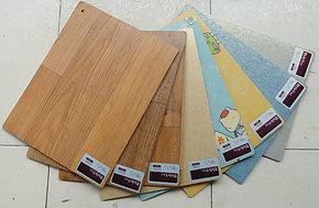 PVC地板革卷材塑胶地板环保家用地暖地热4.5厚韩华素丽韩国进口